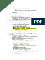Psych Unit 1 for NYU Developmental Psychology