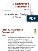 Analysis and Design of Slabs 1