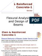 Flexural Analysis and Design of Beamns