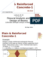 Flexural Analysis and Design of Beamns 6