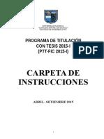 Carpeta PTT 2015