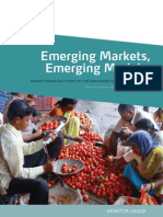 Monitor Emerging Markets emerging models