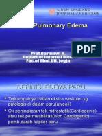 Kuliah 4 Oedem Paru Pulmonaryedema