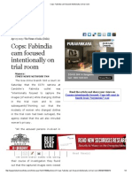 Cops_ Fabindia Cam Focused Intentionally on Trial Room