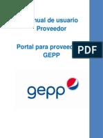 Manual Proveedores GEPP