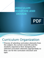 curriculumorganizationanddesign-140103223400-phpapp02