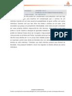 Atividade de Autodesenvolvimento Direito e Legislação
