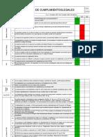 Check List - Levantamiento Legal -