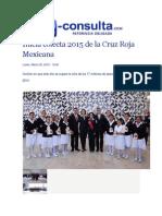 30-03-2015 E-Consulta,Com - Inicia Colecta 2015 de La Cruz Roja Mexicana
