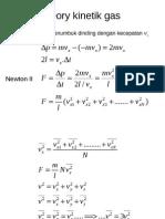 PPT Fisika Dasar Teori Kinetik Gas
