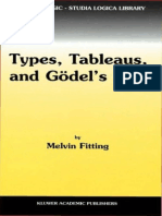 [Melvin Fitting] Types, Tableaus, And Gödel's God