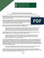 PKP Columbia Report Release 4-6-15