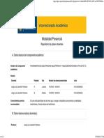 REA Plan Docente Del Componente ELECTRICIDAD