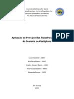 Aplicação Do Princípio Dos Trabalhos Virtuais e Do Teorema de Castigliano (2010)