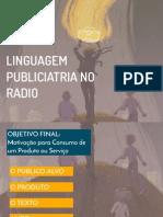 Linguagem Radiofônica Publicitária