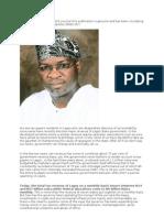 Fashola and Mega Corruption the True Face of Lagos - 9jabook