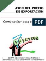 PRECIO DE EXPORTACION