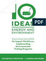 10 Ideas for Energy and Environment, 2015