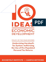 10 Ideas for Economic Development, 2015