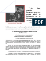 Ex-agents say CIA compiled death lists for Indonesians by Kathy Cadane.docx
