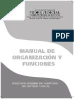 Poder Judicial de Paraguay Manual de Organización y Funciones