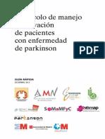 Guia Rapida Del Protocolo de Manejo y Derivacion de Pacientes Con Enfermedad de Parkinson