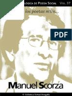 Cuaderno de Poesia Critica n 37 Manuel Scorza