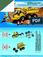 Camion Lego 7631 Manual