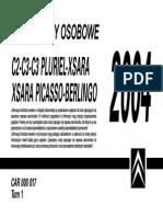 Citroen c2 c3 Instrukcja Obsługi