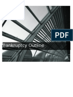 Bankruptcy Outline 1