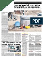 El Comercio -04!-04-15 - Chosica, Unas Cien Famiias Aún No Pueden Habita Sus Casas