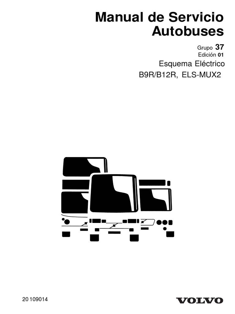 Manual de Servicio Autobuses: Esquema léctrico B9R , Els-Mux2