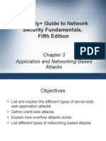 Chapter 3 - Application and Networking Based Attac