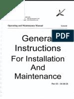 Operating and Maintenance Manual