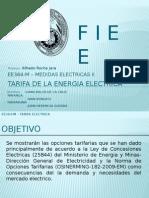 Tarifacion de La Energia Electrica