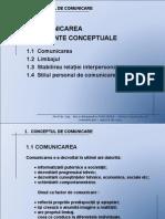 T1 - Concept Comunicare PowerPoint