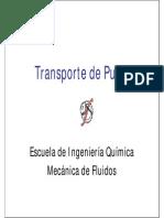 Bombas y Pulpas Transporte