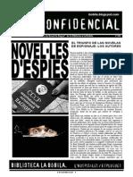 L'H Confidencial, 102. Novel·les d'espies