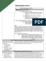 pre observation form (krampe 2)