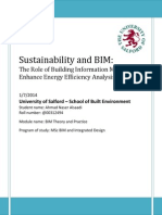 The Role of Building Information Modeling to Enhance Energy Efficiency Analysis-libre