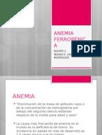 Anemia Ferropenica 1