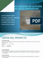 Control de Erosión de La Playa La Herradura