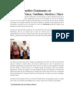 Las Cuatro Pueblos Dominantes en Guatemala