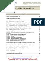 Aula 01 - Atos Administrativos