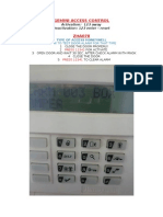 Access Control Testing Alarm