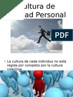 CulCal Cultura de Calidad Personal.ppt