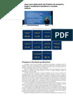 Normas Para Elaboração de Projetos de Pesquisa, Trabalhos Acadêmico-científicos e Revistas Científicas