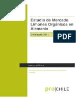 Estudio Mercado Limon Organico
