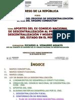 Ricardo Vidaurre - Congreso de La República Ppt