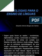 MEtodologia para ensino de linguas